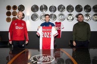 Tagliafico renovó su vínculo con Ajax hasta 2023