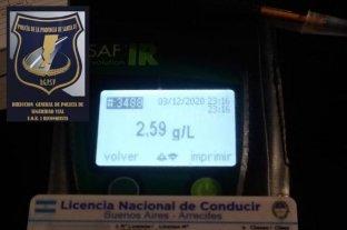 Un camionero alcoholizado intentó sobornar con dos mil pesos a la policía vial