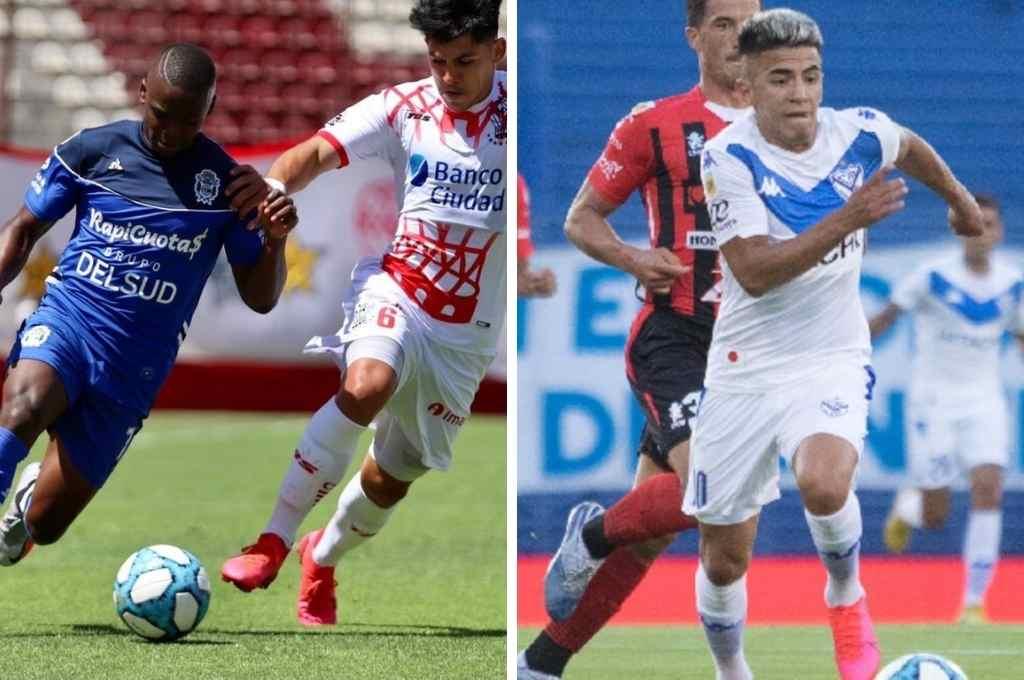Gimnasia, Huracán y Vélez se juegan los dos lugares en la fase Campeonato que otorga la zona F.    Crédito: Archivo