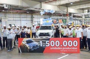 Toyota y un hito para festejar