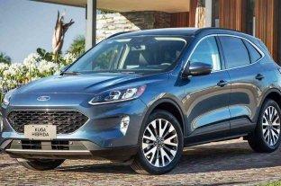 Ford impacta con la Kuga Híbrida Titanium