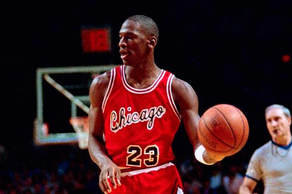 En 1984, Jordan comenzaba a brillar en la NBA Crédito: Gentileza