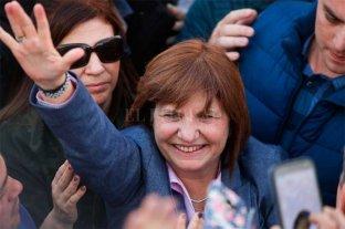 """Patricia Bullrich aseguró que el Frente de Todos """"defiende a un vicepresidente que fue ladrón"""""""