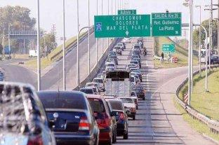 Éxodo turístico: más de 2.700 vehículos circulan por hora hacia la Costa Atlántica