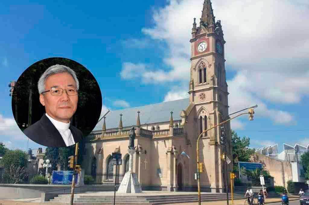 Monseñor Han Lim Moon, obispo coadjutor de Venado Tuerto, nació en Suwon, Corea del Sur, el 16 de junio de 1955. Crédito: Gentileza