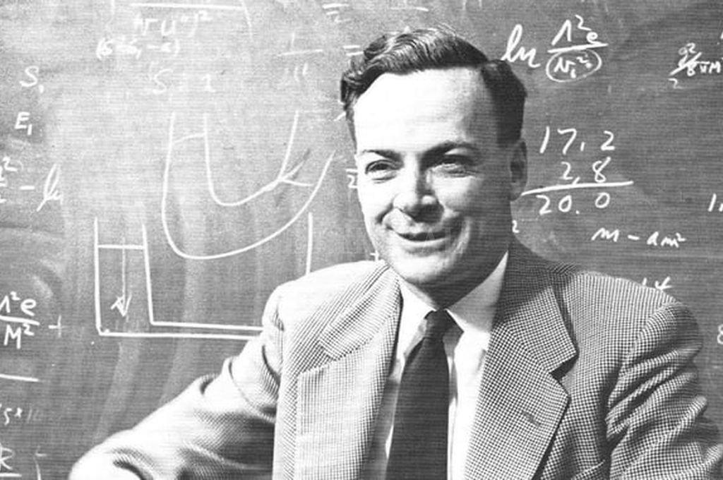 Richard Feynman Crédito: Captura de Internet