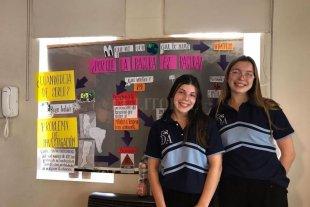 Dos alumnas que transformaron en oro los basurales de nuestra ciudad