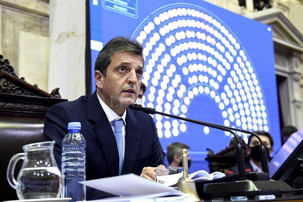 Sergio Massa. Crédito: Archivo El Litoral