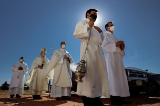Paraguay: finalmente, la fiesta de la Virgen de Caacupé se celebra al aire libre por la pandemia