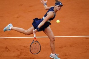 """La rosarina Podoroska fue considerada la """"Revelación del Año"""" por la WTA"""