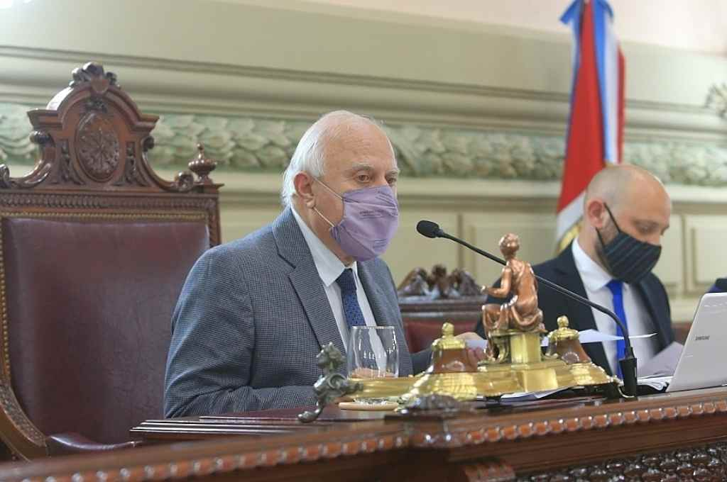 Miguel Lifschitz, presidente de Diputados   Crédito: Cámara de Diputados
