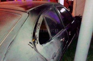 Santa Fe insegura: quemaron un auto en la puerta de una comisaría