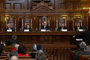 Desde el gobierno aseguran que no impulsarán un juicio político a la Corte