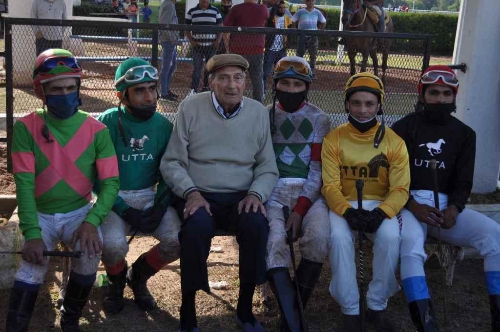 Daniel Díaz, Claudio Olivarez, Ramón Tavella, Juan Alberto Márquez, Alejandro Sánchez y Lucas Juárez.    Crédito: Periodicoeldisco.com.ar
