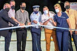 Quedó inaugurado el nuevo acceso pavimentado al Hospital Central de Reconquista