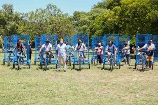"""Lanzaron la campaña de """"Recicletas"""": las bicicletas para el reciclaje urbano"""