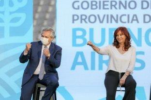 Alberto y Cristina compartieron un acto con críticas internas, a la oposición y a la Justicia