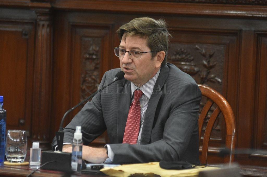 Rodolfo Cattáneo, vicepresidente de la Caja de Asistencia Social -Lotería de Santa Fe-. Crédito: Manuel Fabatía