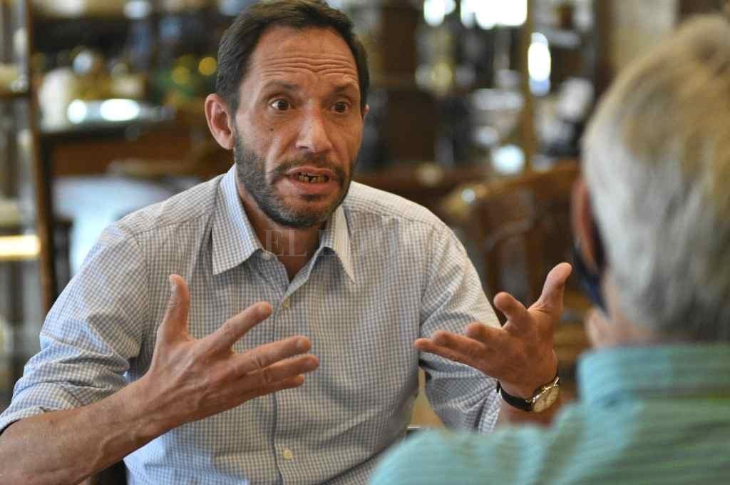 Ferraro es el presidente a nivel nacional;  es diputado nacional por CABA, antes fue legislador en ese distrito.     Crédito: Pablo Aguirre