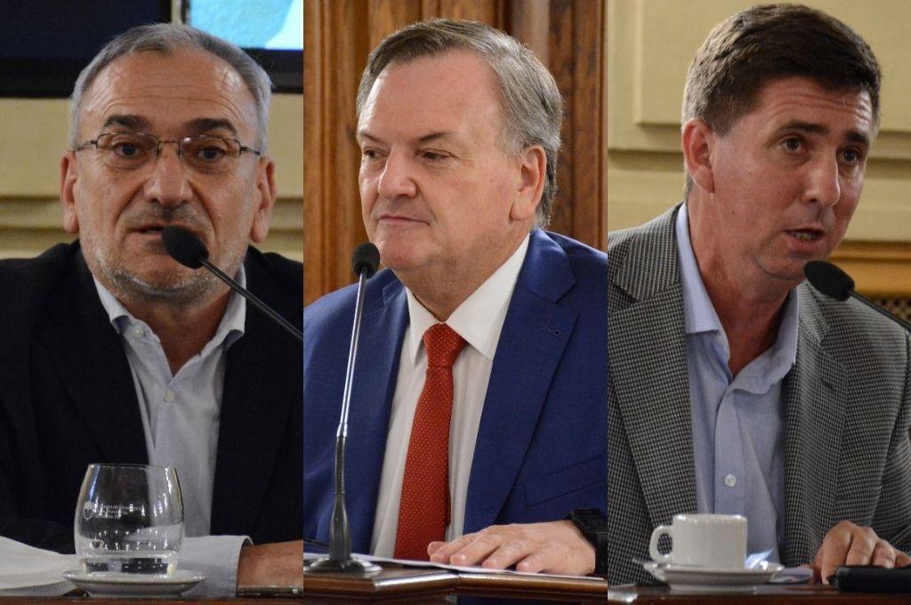 Calvo, Michlig y Pirola, las voces en el recinto del Senado en la discusión sobre tributos Crédito: Cámara de Senadores