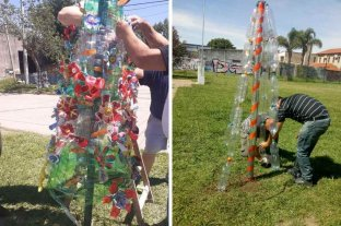 """""""Navidad sustentable"""" en Santo Tomé: para que nadie se quede sin su arbolito"""