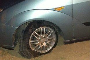 Piedras, autos dañados e intentos de robos en Circunvalación Oeste