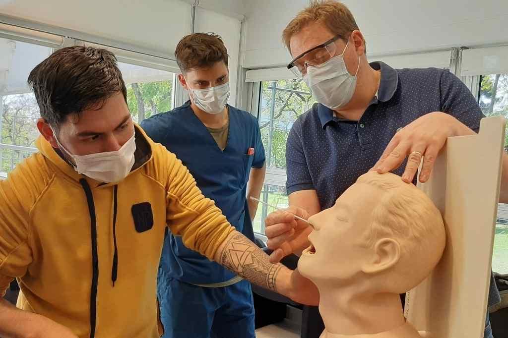 161 simulaciones se realizaron en contexto de pandemia por iniciativa del Cesir. El trabajo fue reconocido por la British Medical Journal Leader.    Crédito: Gentileza