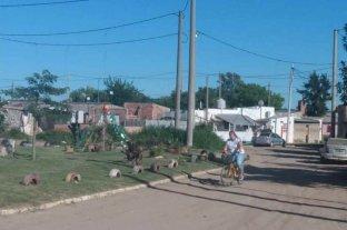 """Viaje al corazón profundo de """"El Chapa"""", otro barrio que vive en una tensa calma"""