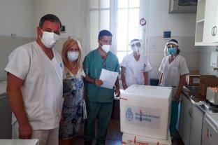 Las vacunas Sputnik-V ya están en el hospital de Rafaela