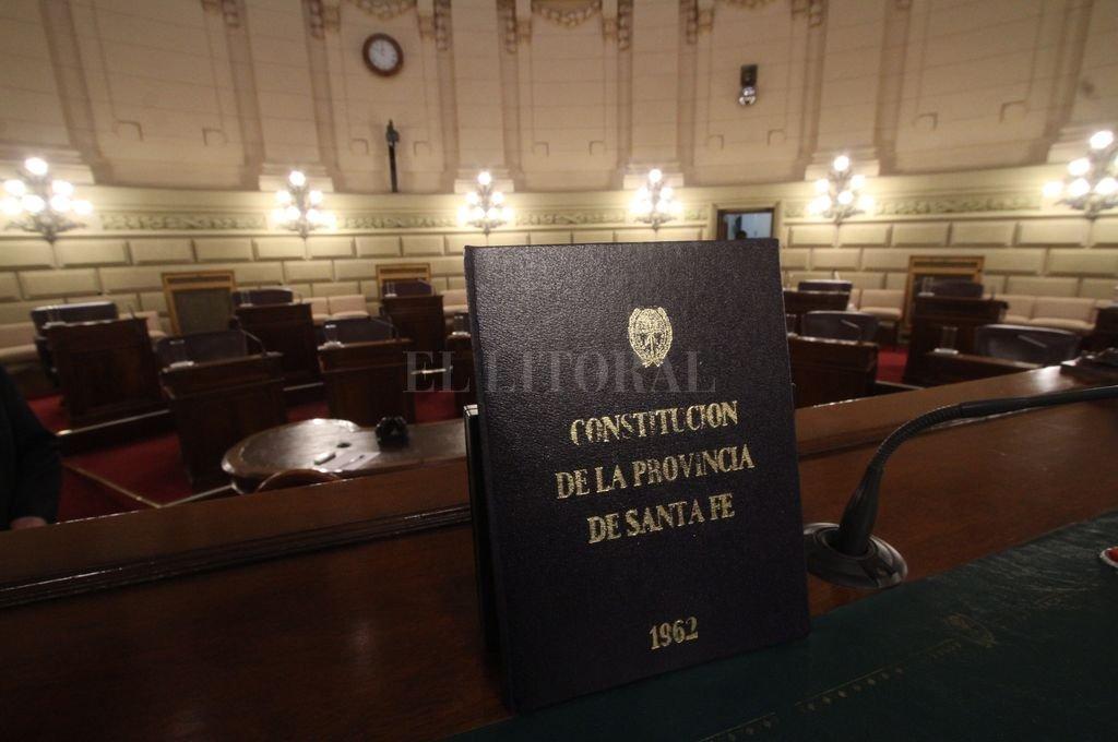 Cámara de Senadores de la Provincia Crédito: Mauricio Garín