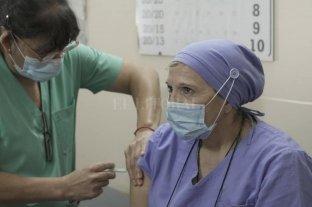 COVID-19: ya se vacuna en el sur santafesino