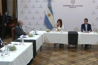 La Bicameral de Inteligencia entrega un informe a Cristina Kirchner y Sergio Massa referido sobre las escuchas