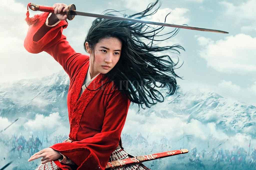 Tras varias postergaciones debido a las nuevas condiciones que impuso la pandemia del coronavirus la película Mulan fue estrenada oficialmente a través de la plataforma Disney Plus. Es un caso paradigmático. Crédito: Gentileza.
