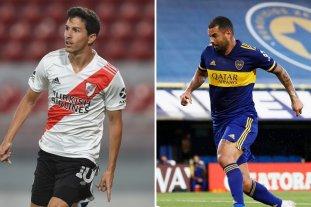 Boca y River perfilan sus equipos de cara al Superclásico