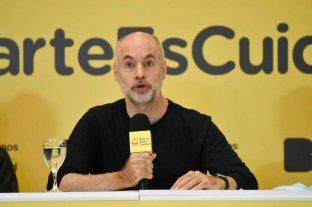 """Larreta confirmó que en Buenos Aires """"en ningún caso se corre riesgo de no empezar las clases"""""""