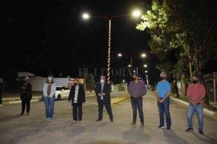 Se inauguró el boulevard Belgrano en Timbúes
