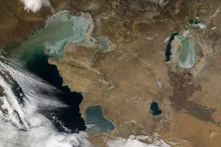 El Mar Caspio, camino a la desecación