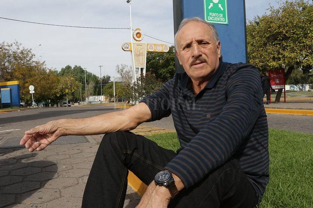 Leopoldo Luque. Crédito: Archivo El Litoral