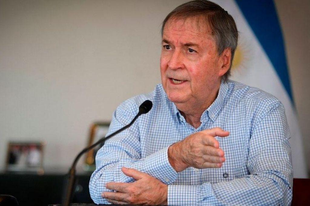 Juan Schiaretti, gobernador de Córdoba Crédito: Gentileza