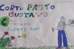 El dibujo viral de su hija cambió la suerte de un tucumano que estaba sin trabajo