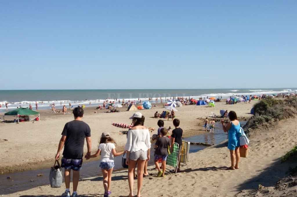 Playa bonaerense Crédito: Gentileza