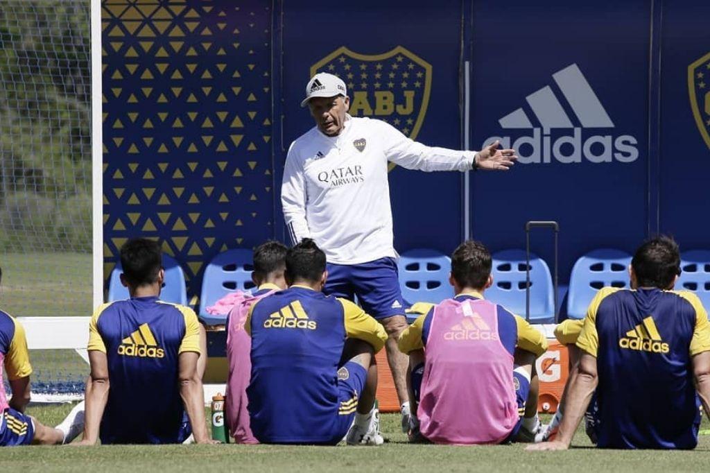 Miguel Ángel Russo, entrenador de Boca Crédito: Gentileza