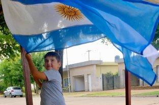 Un nene santafesino le pidió a los Reyes la bandera de Argentina