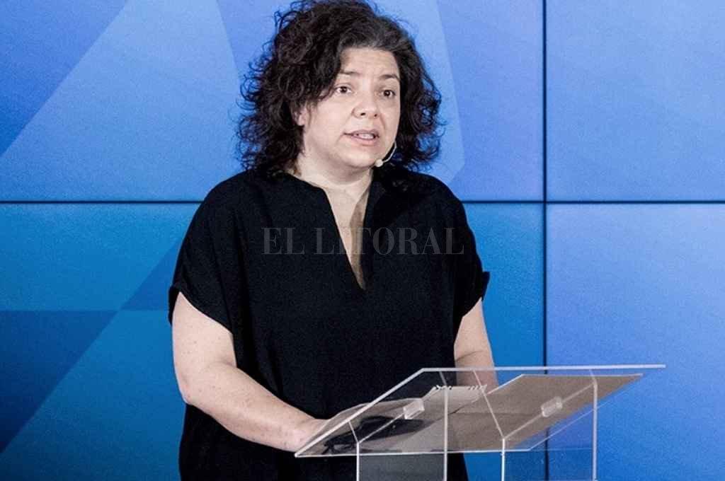 Carla Vizzotti, secretaria de Aceceso a la Salud. Crédito: Gentileza