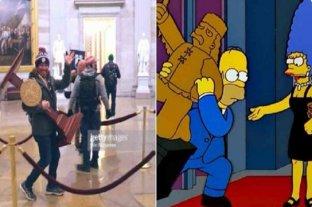 Las redes estallaron con memes tras la toma del Capitolio en Estados Unidos