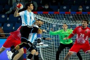 Argentina debuta en el Mundial de Handball