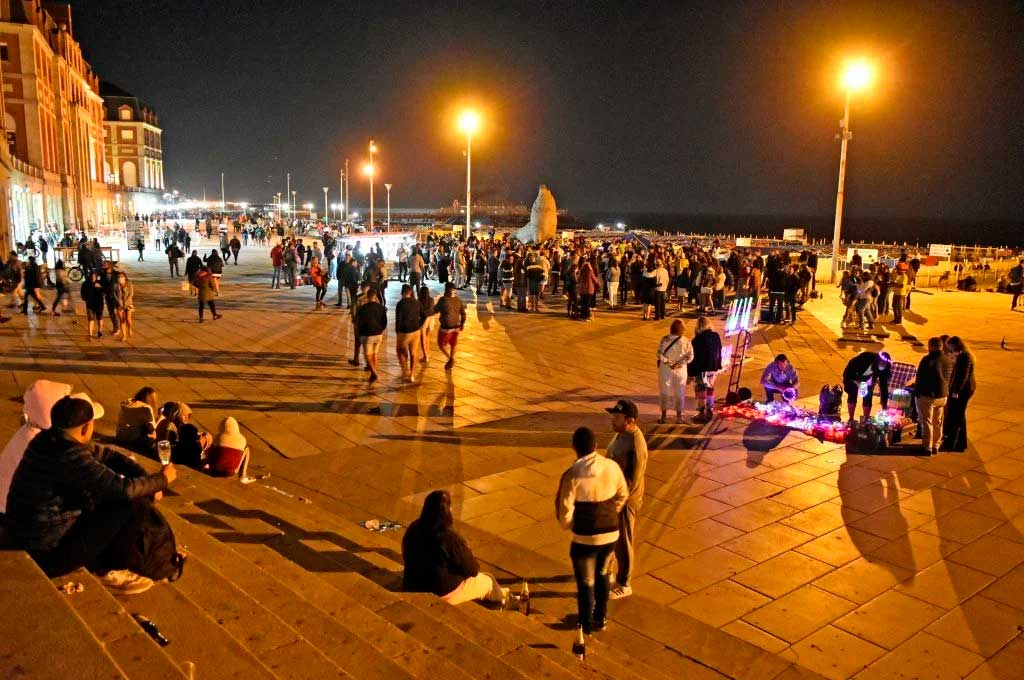 Mar del Plata en modo pandemia Crédito: La Capital de Mar del Plata