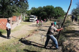 Alto Verde: el municipio desactivó la usurpación de media manzana
