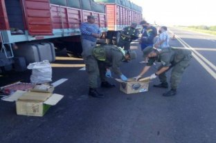 Malabrigo: procesaron a un camionero que ingresó al país con 48 kilos de marihuana