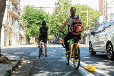 Ciclovías de emergencia: Rosario avanza con su segunda etapa